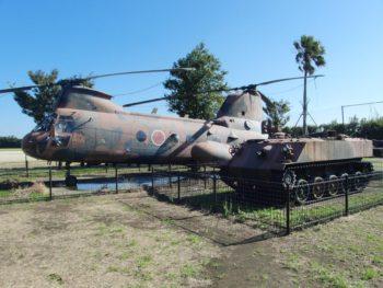 自衛隊ヘリコプター・装甲車